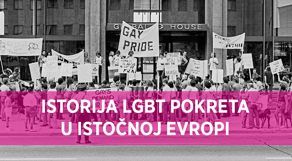 History of LGBT movement in Eastern Europe