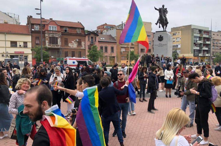 First Pride in Novi Sad