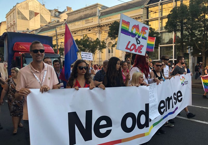 Activists from the region join Belgrade Pride 2019