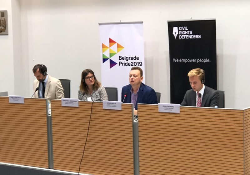 """Human rights conference """"Beyond 2020: The LGBT Community in an Era of Populism"""" takes center stage in Belgrade"""