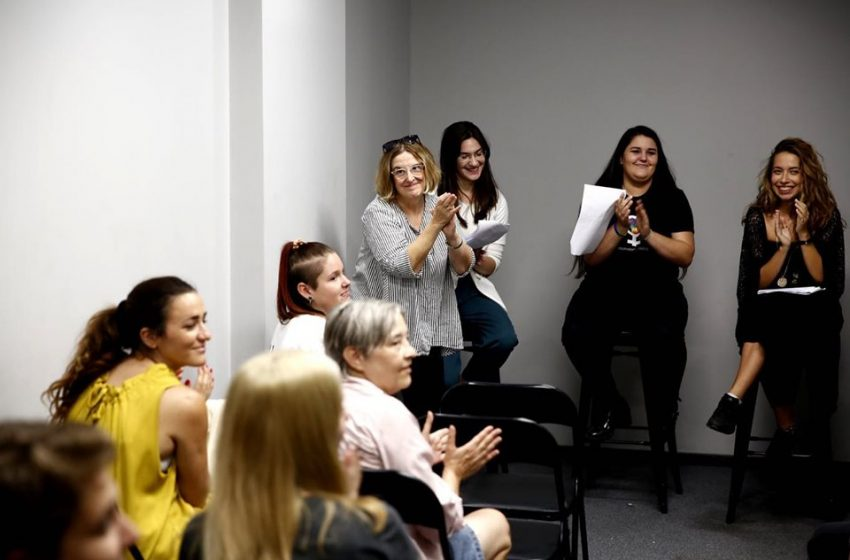 """The Play """"Queer Cafe: Hear Our Voices"""" Held at the Pride Info Center"""