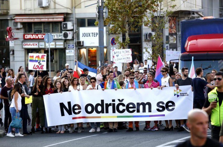"""Pod sloganom """"Ne odričem se"""" održan šesti Prajd u Beogradu"""