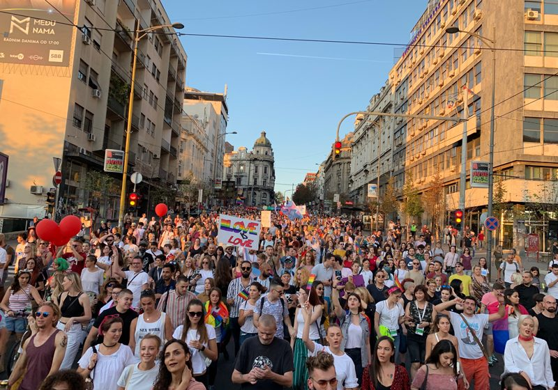 Under the banner of 'I'm not giving up' Belgrade Pride 2019 is successfully held.