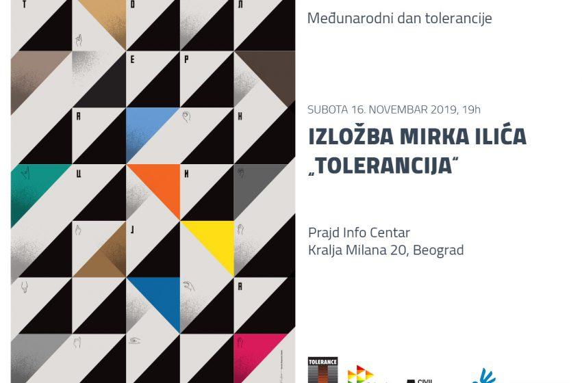 """Izložbom """"Tolerancija"""" Mirka Ilića biće obeležen Međunarodni dan tolerancije u Beogradu"""