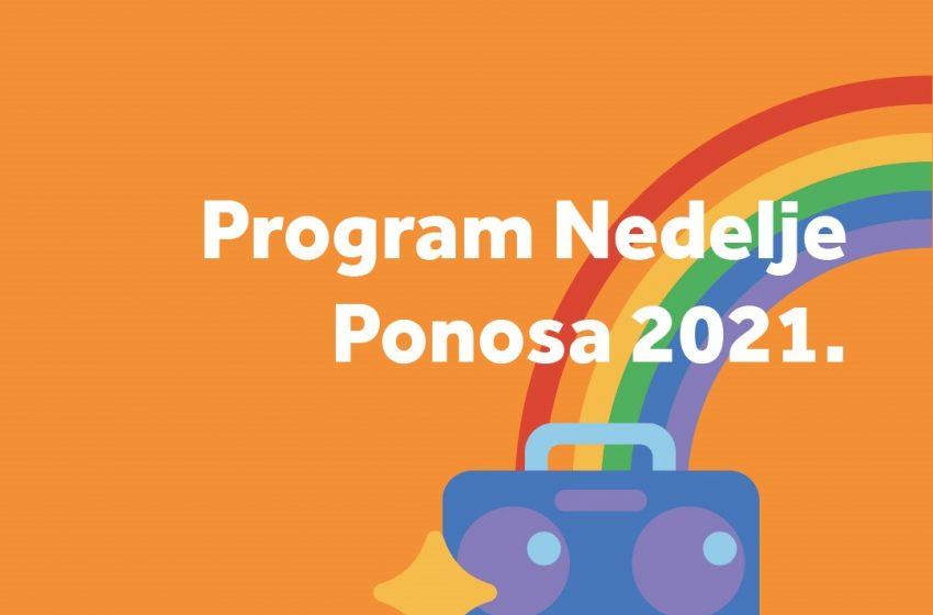 Program Nedelje Ponosa 2021